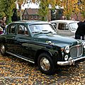 Rover type P4 100 saloon (1949-1964)(Retrorencard novembre 2011) 01
