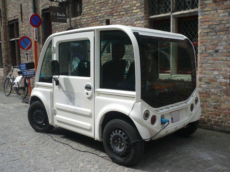 FAM F-City micro-citadine électrique Bruges (2)