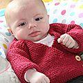 Petit tricot et crochet en cours