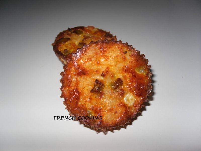 Cake Au Poisson Chorizo Poivron