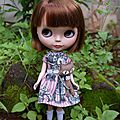 Frida pepita, cute blythe doll by isadora m.