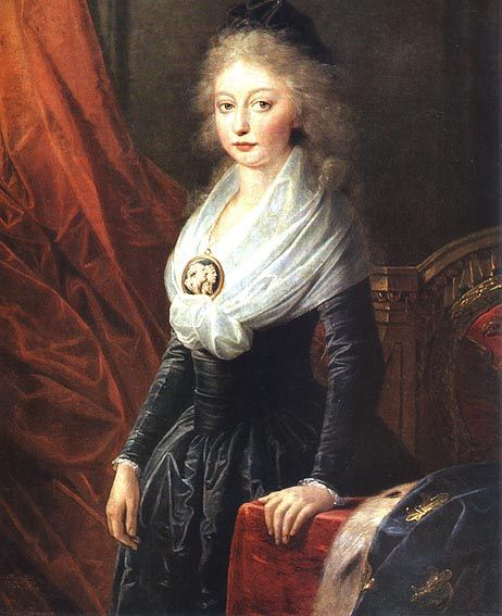 Madame Royale en 1795