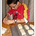 Les p'tits pains de titoune en images