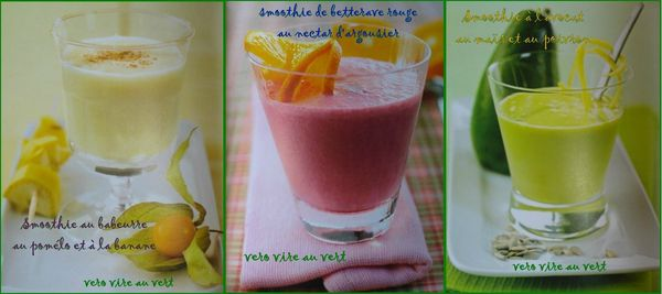 smoothie surprenants