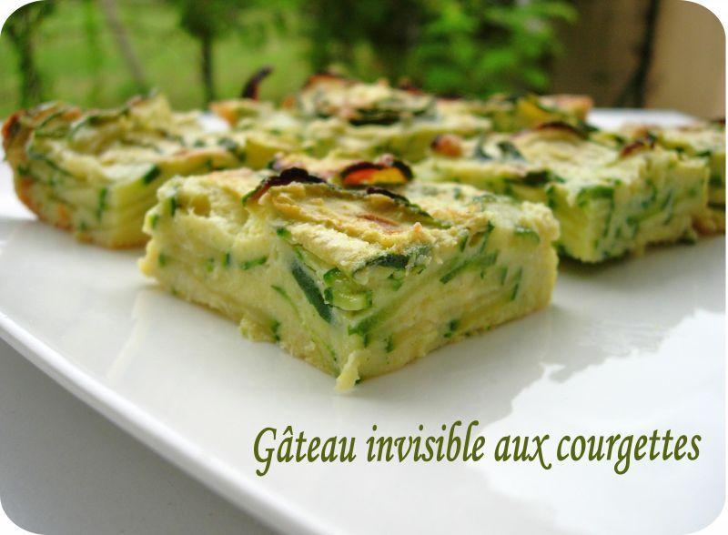 G teau invisible aux courgettes d 39 eryn cuisine et d pendances - Cuisine invisible ...