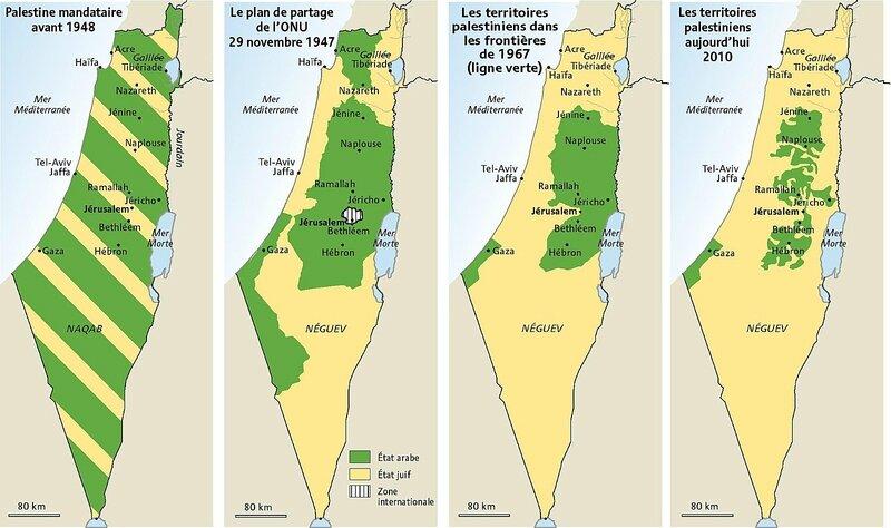 carte-de-la-palestine-en-2010