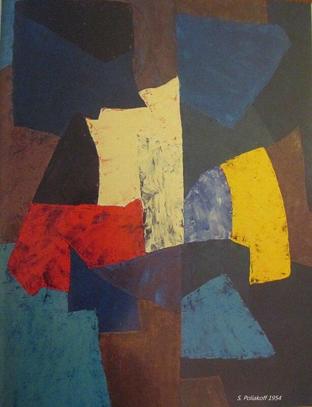 composition abstraite 1954