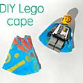 Faire des capes pour les personnages lego