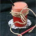 Jus de fraises & orange - jugo de fresas & naranja