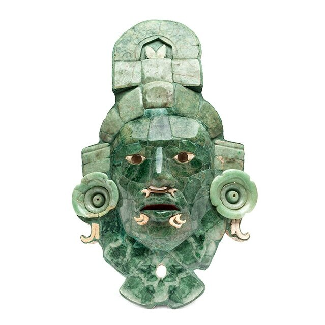 National Museum of Anthropology in Mexico City exhibits the enigmatic Calakmul mask