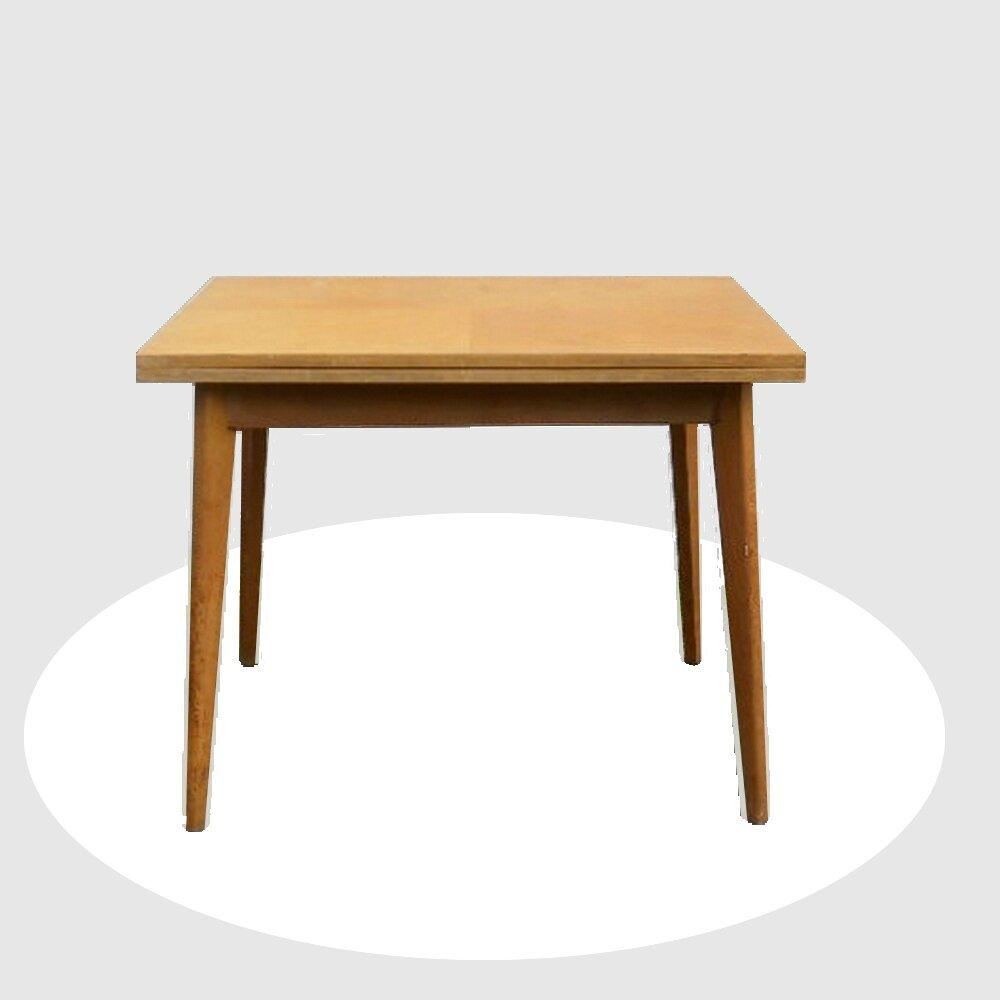 Table de repas pliable vintage annees 50 vendu meubles for Table pliable design