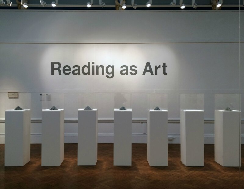 2016, Reading as art, Bury Art Museum 3