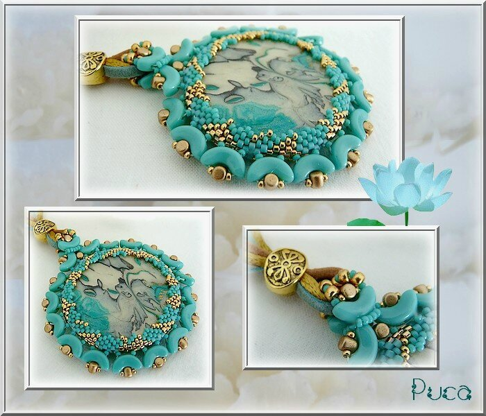 Planche Gia Turquoise Green