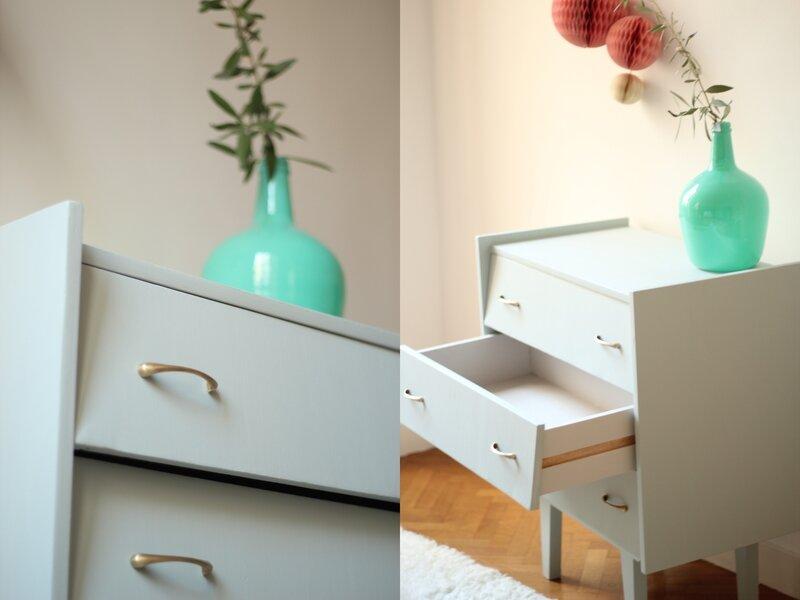 commode vintage petite 3 tiroirs années 50 60 TRENDY LITTLE 2