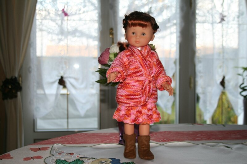 Clara & sa veste Kimono