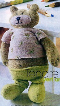 doudou_ours_vert_anis