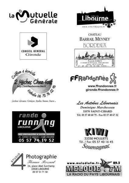 Partenaires 33km500 2013
