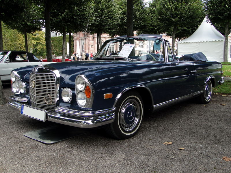 mercedes benz 280 se w111 cabriolet version us 1968 oldiesfan67 mon blog auto. Black Bedroom Furniture Sets. Home Design Ideas