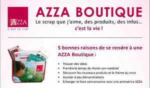 azza boutique affiche