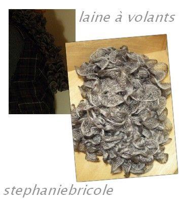 Tricoter facilement une charpe volants gr ce la laine - Tricoter une echarpe facilement ...