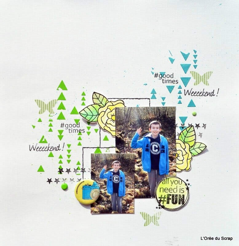 all you need is fun blogorel scrap