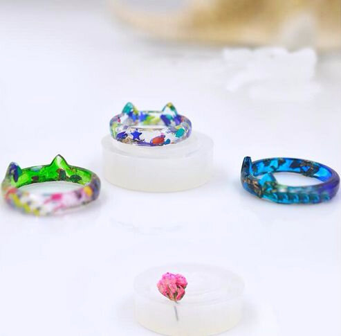 moule silicone bague chat