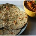 Chapatis aux épinards indiens