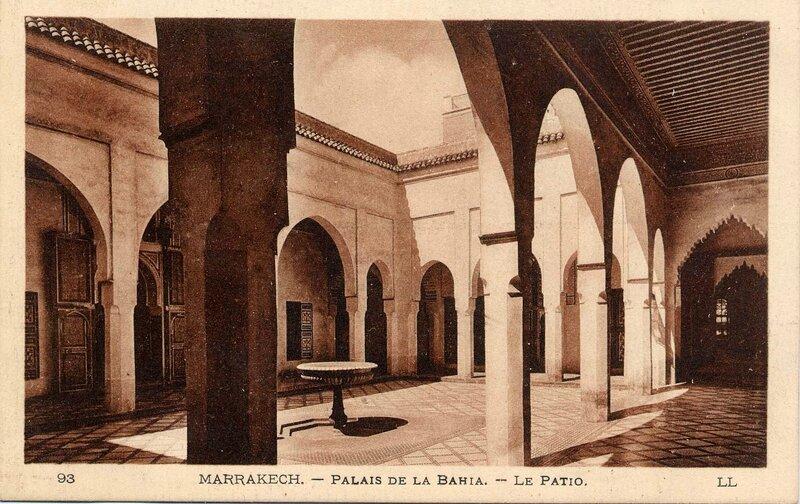 93LL-CP M'Kech ancien_Palais de la Bahia 14