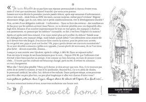 1-HOME SWEET HOME ISABELLE MIMOUN NUMERO DIX-NEUF NOVEMBRE 2011