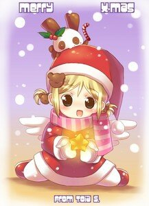 __Cute_Christmas___by_toi_chan