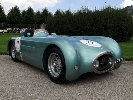 HERSHEY WALTHAM Streamliner Jaguar Barchetta 1948 Classic Gala de Schwetzingen 2010 2