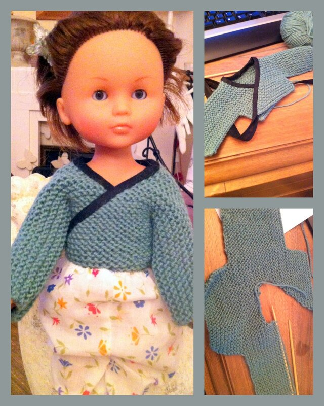 gilet pour poupée chérie