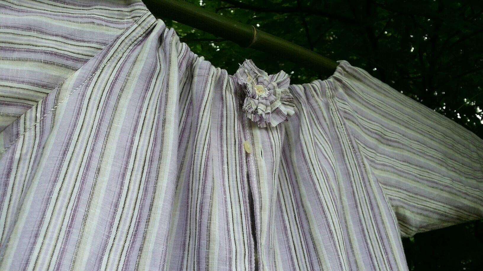 Chemise fleur de lin