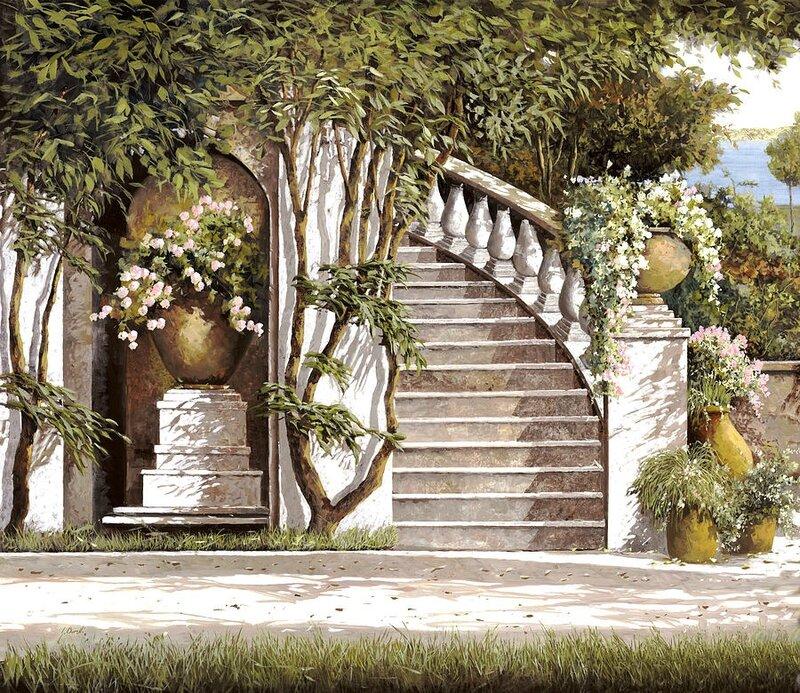 Borelli Guido la-scalinata