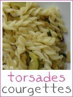 Torsades aux courgettes - index