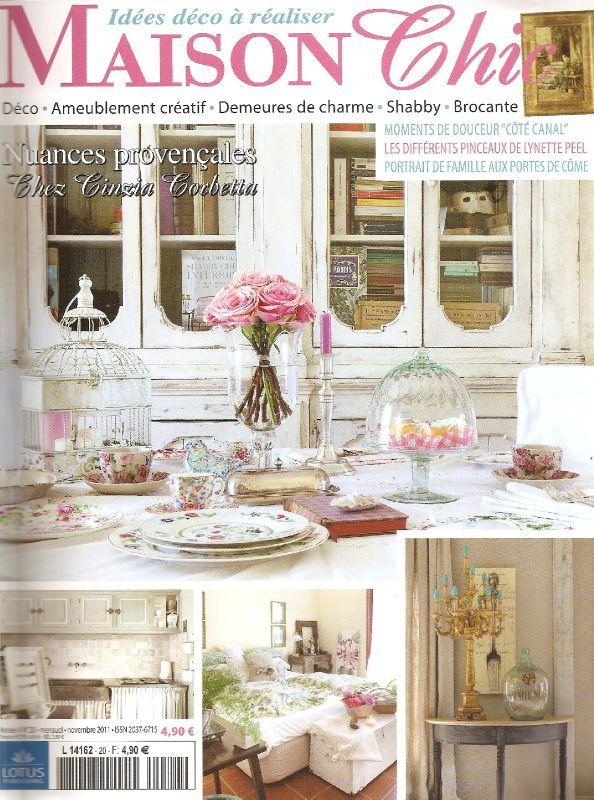Un joli tuto que je partage avec vous l 39 atelier d 39 elise for Abonnement maison chic magazine