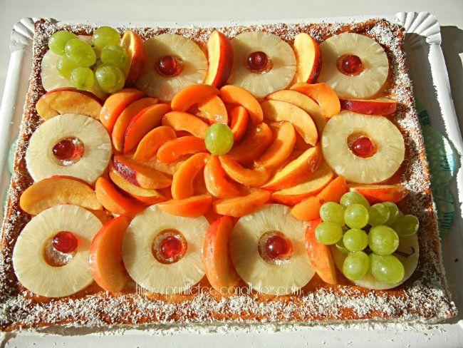 gateau de mariage aux fruits prunille fait show