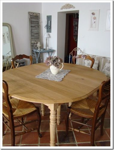 Help maison de famille for Table salle a manger qui ne prend pas de place