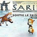 Concours la légende de sarila : 5 dvd à gagner !!