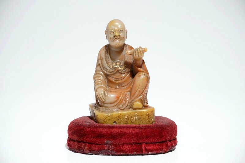 a-chinese-shoushan-stone-figure-of-a-luohan-signed-yu-xuan-1718th-c-1