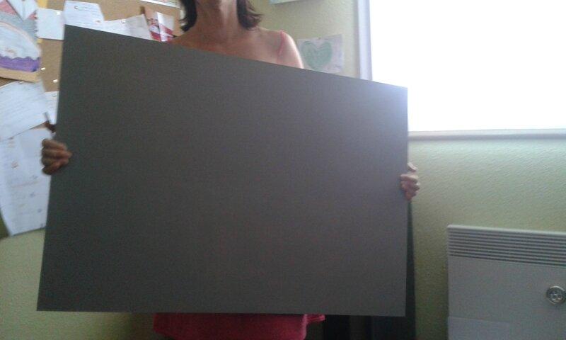 un petit coup de peinture gris