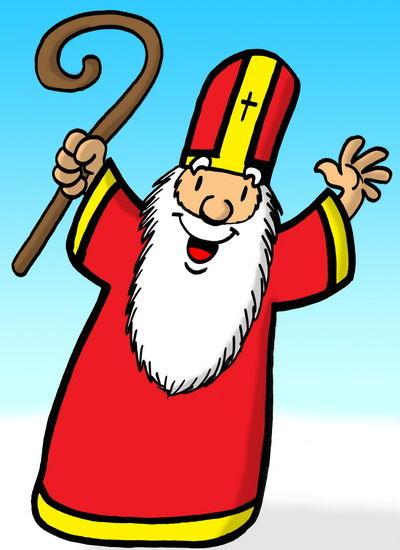 376 jour j c 39 est la saint nicolas camille - Saint nicolas dessin couleur ...