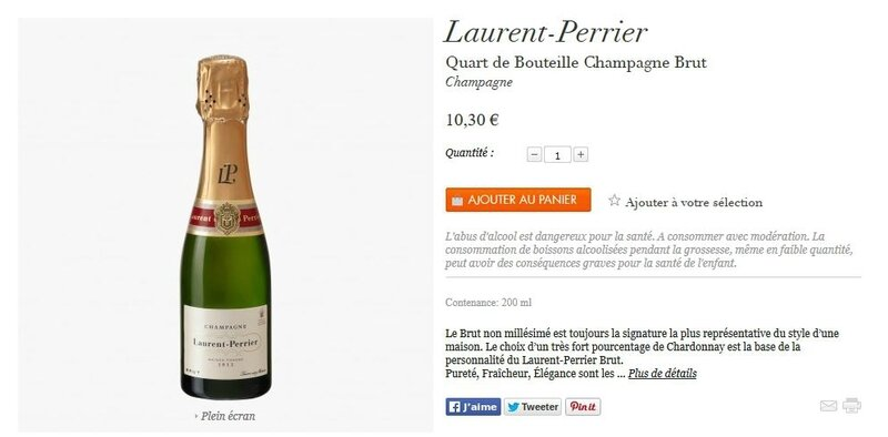 laurent perrier quart lbm