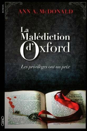 La malédiction d'Oxford - Ann A. McDonald