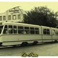 4032. Fait partie de la série des premiers tramways articulés en
