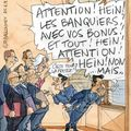 Sarkozy menace les banquiers