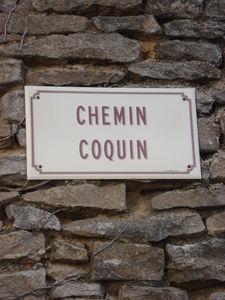 Chemin coquin