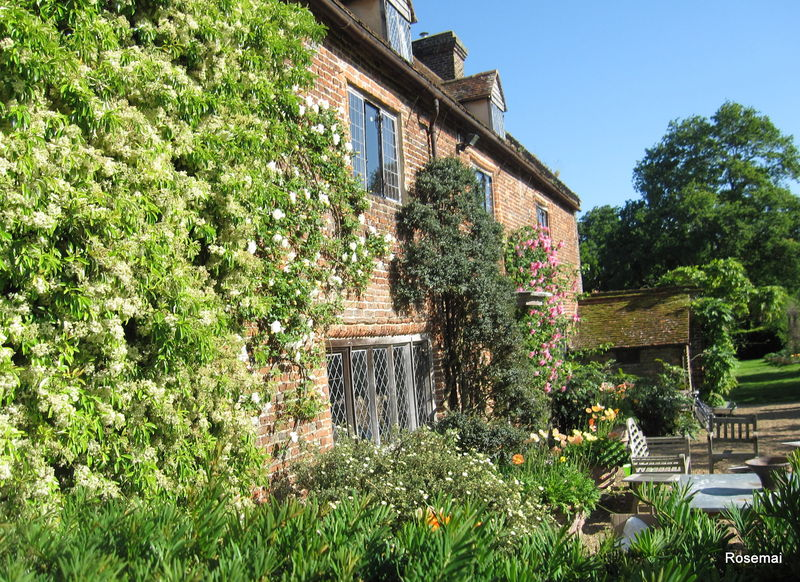 Le jardin anglais sissinghurst castle photo de le for Jardin de cottage anglais