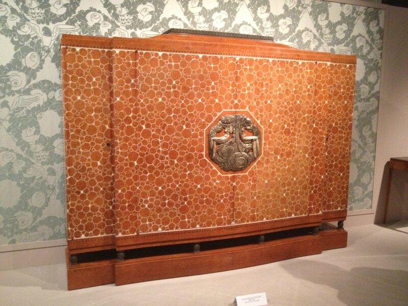 1925, quand l'Art Déco séduit le monde, Cité de l'architcture, meuble elysee 030