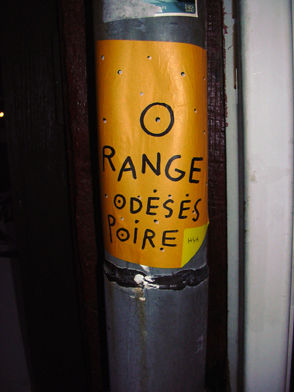 ORANGE O DESESPOIRE